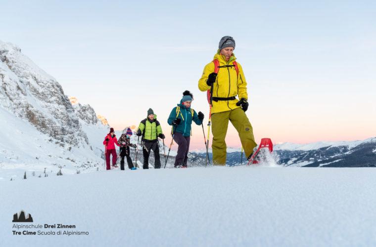 Schneeschuh Touren - ciaspolate 2020 - Alpinschule Drei Zinnen (8)