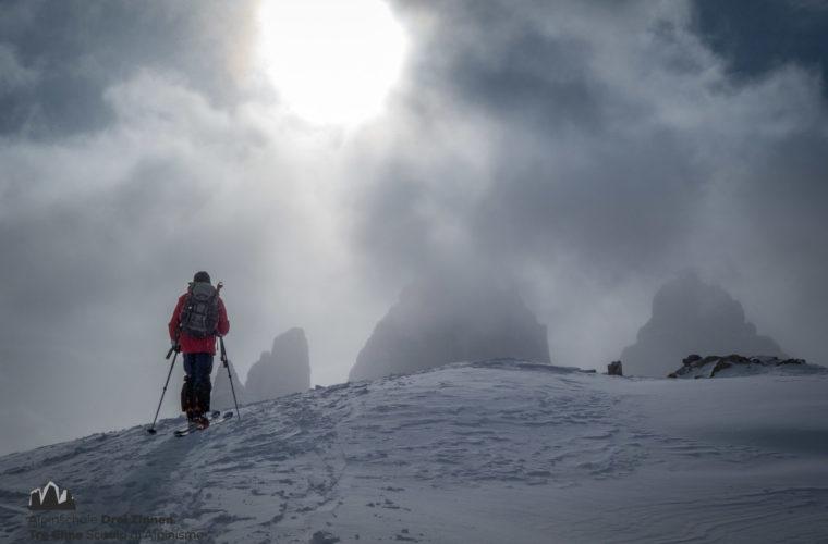 Skitour Sextnerstein - sci alpinismo Sasso di Sesto (1)