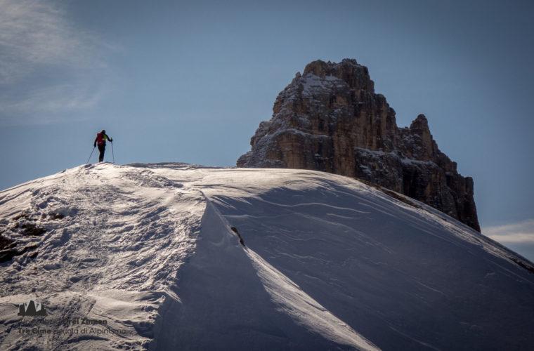 Skitour Sextnerstein - sci alpinismo Sasso di Sesto (2)