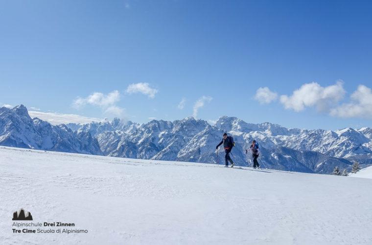 Skitour easy leicht facile sci alpinismo 2020 - Alpinschule Drei Zinnen (1)