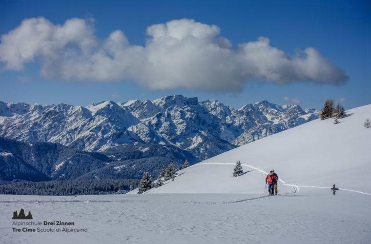Skitour easy leicht facile sci alpinismo 2020 - Alpinschule Drei Zinnen (2)