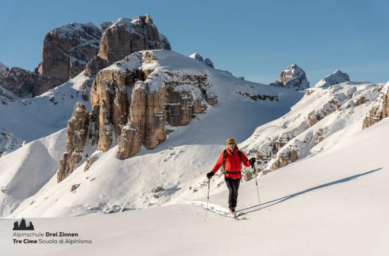 Skitour easy leicht facile sci alpinismo 2020 - Alpinschule Drei Zinnen (4)