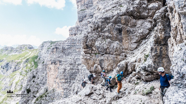 Klettersteig Ferrata : Klettersteig um den zwölfer via ferrata croda dei toni 1