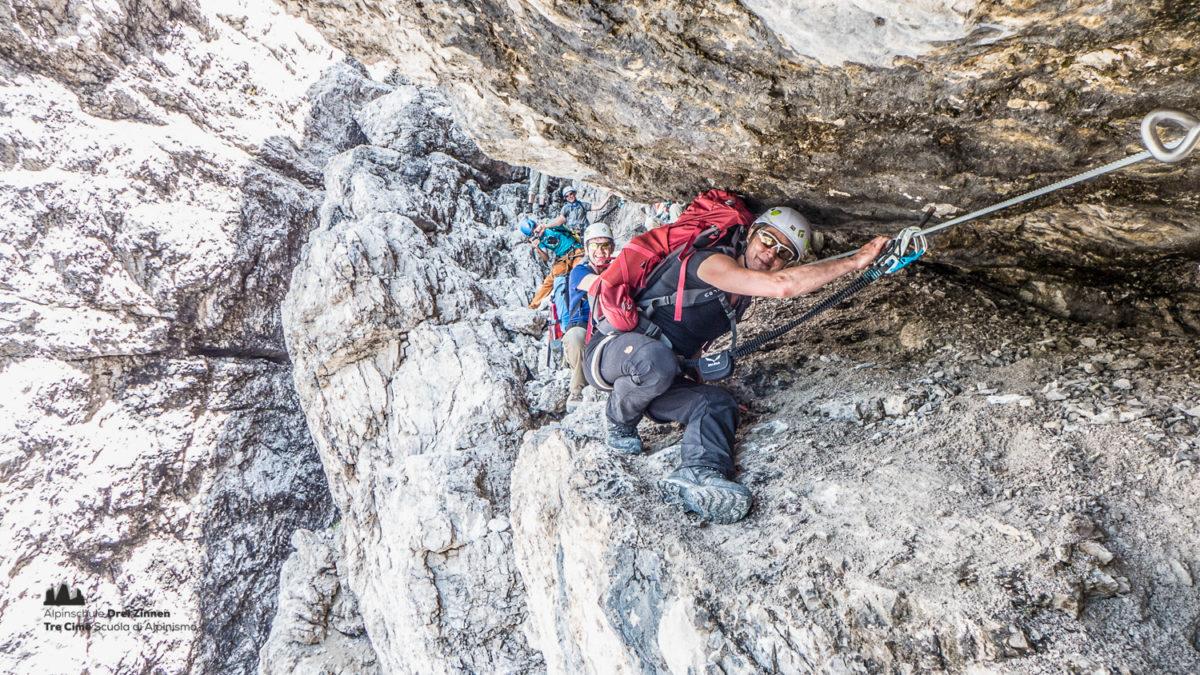 Klettersteig Drei Zinnen : Tagestour klettersteige sextner dolomiten alpinschule dreizinnen