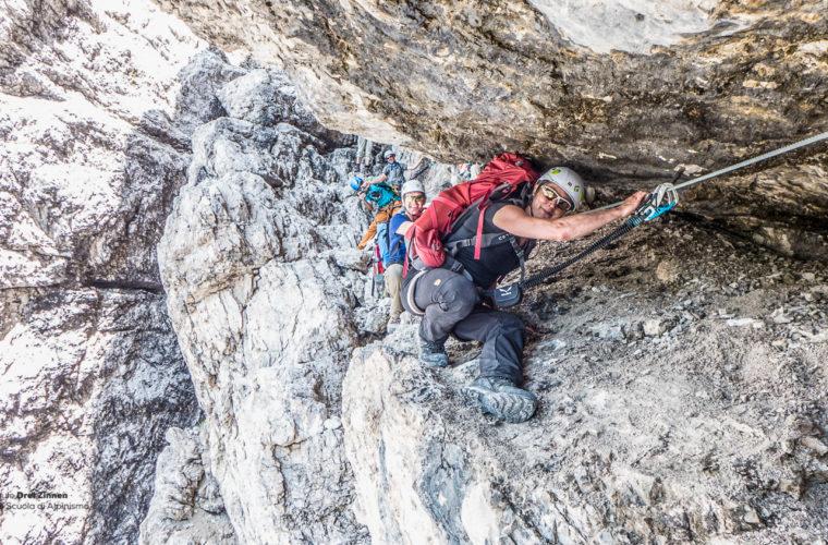 Klettersteig um den Zwölfer - via ferrata Croda dei Toni-3