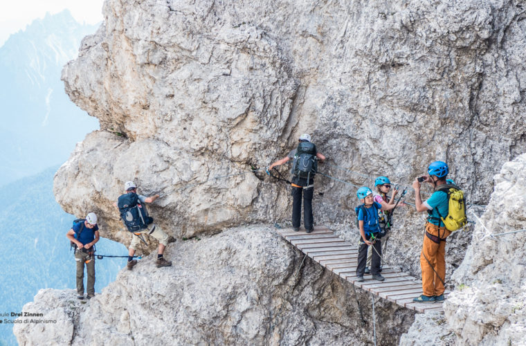 Klettersteig um den Zwölfer - via ferrata Croda dei Toni-4