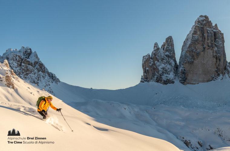 Freeride + short skitour 2020 - Alpinschule Drei Zinnen