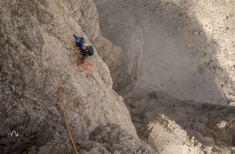 Kleine Zinne Nordwand Innerkofler Cima Piccola (1)