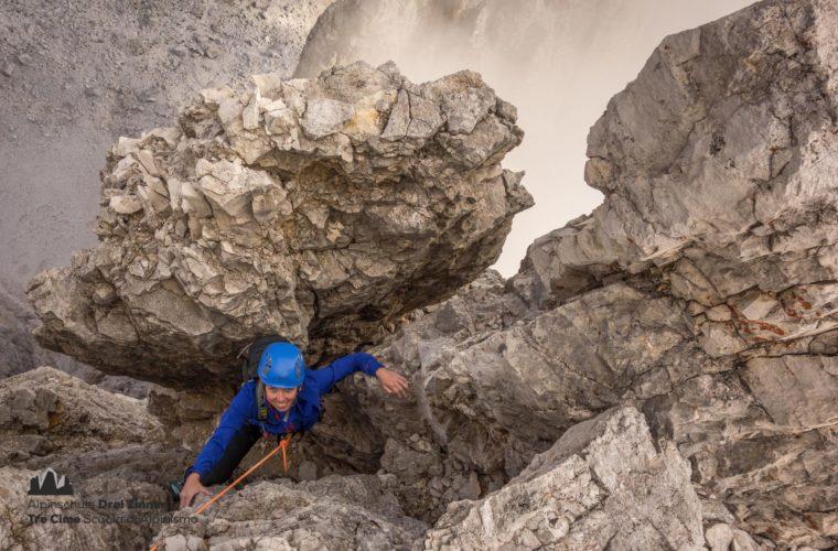Kleine Zinne Nordwand Innerkofler Cima Piccola (2)