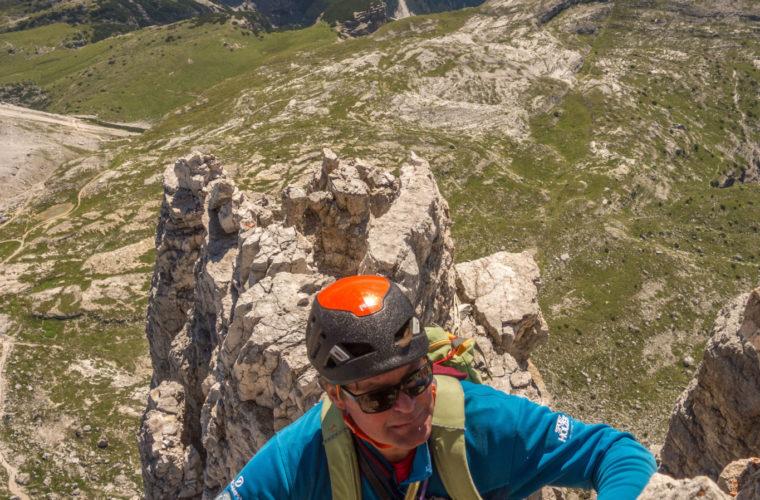 Kleine Zinne Nordwand Innerkofler Cima Piccola (4)