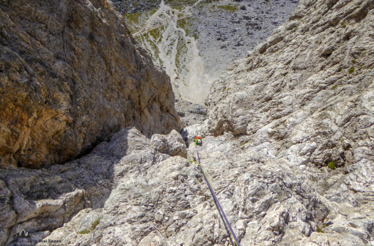 Kleine Zinne Nordwand Innerkofler - Cima piccola parete nord Innerkofler-6