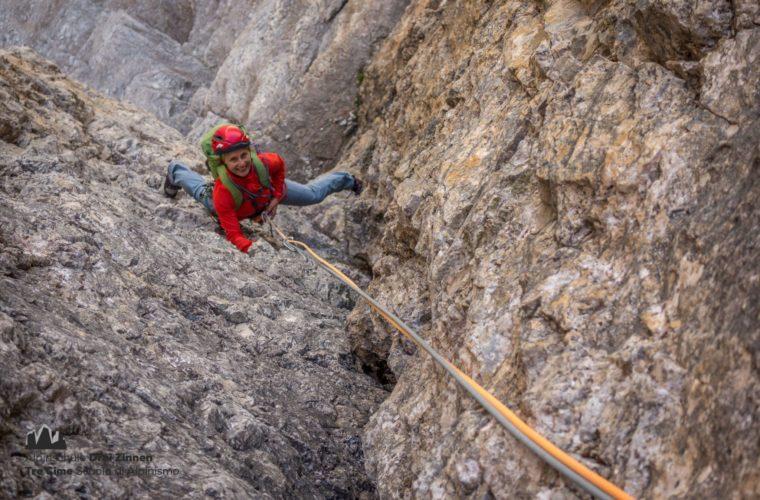 Klettern Grosse Zinne Dülfer Cima Grande arrampicata (2)