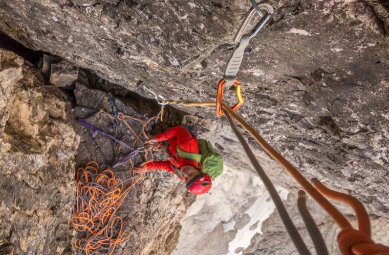 Klettern Grosse Zinne Dülfer Cima Grande arrampicata (3)