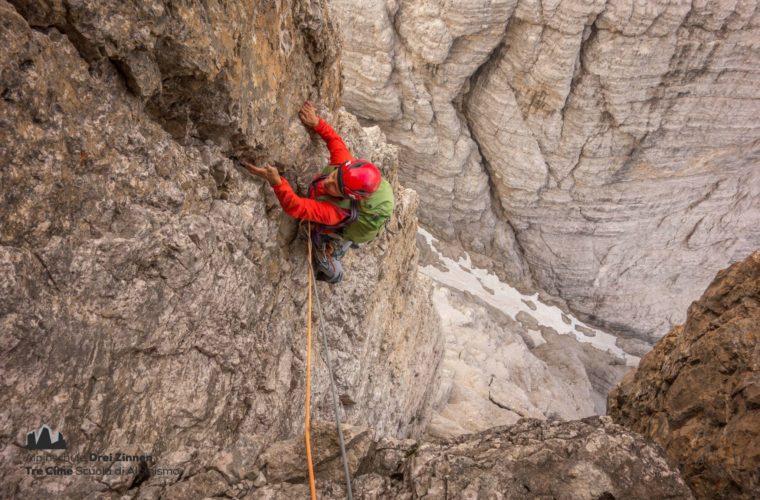Klettern Grosse Zinne Dülfer Cima Grande arrampicata (5)