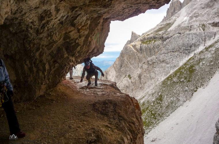 Klettersteig Alpinisteig - via ferrata Strada degli Alpini-2