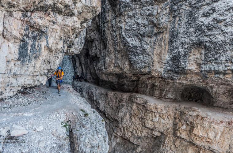Klettersteig Alpinisteig - via ferrata Strada degli Alpini-6