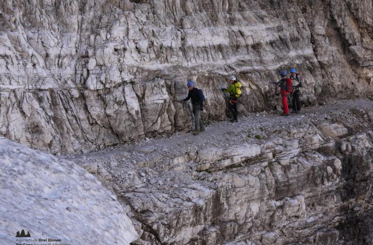 Klettersteig Alpinisteig - via ferrata Strada degli Alpini-7