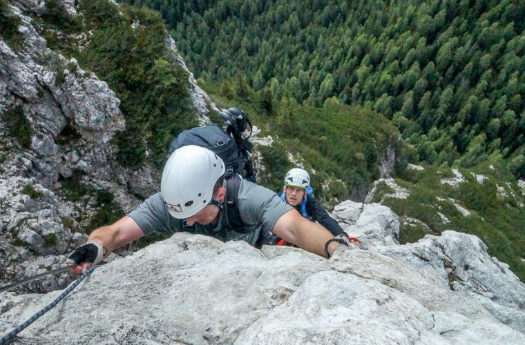 Klettersteig Col Rosa via ferrata-2