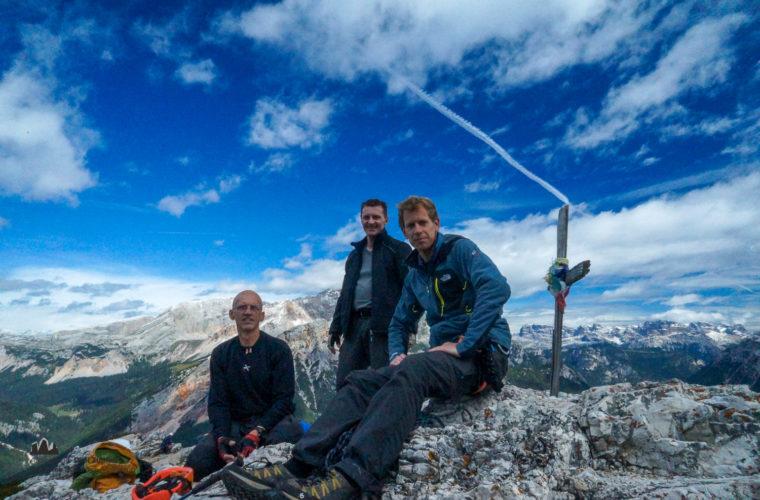 Klettersteig Col Rosa via ferrata-4