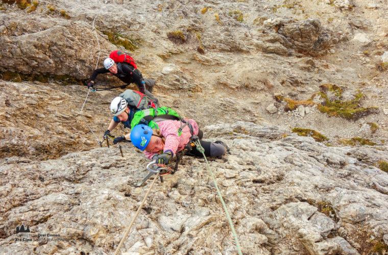 Klettersteig Col dei Bos via ferrata-11