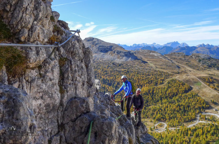 Klettersteig Col dei Bos via ferrata-12