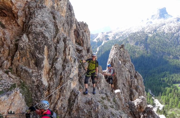 Klettersteig Col dei Bos via ferrata-3