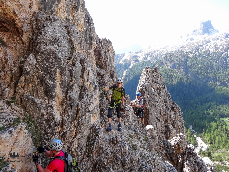 Klettersteig Drei Zinnen : Klettersteig col dei bos via ferrata alpinschule dreizinnen