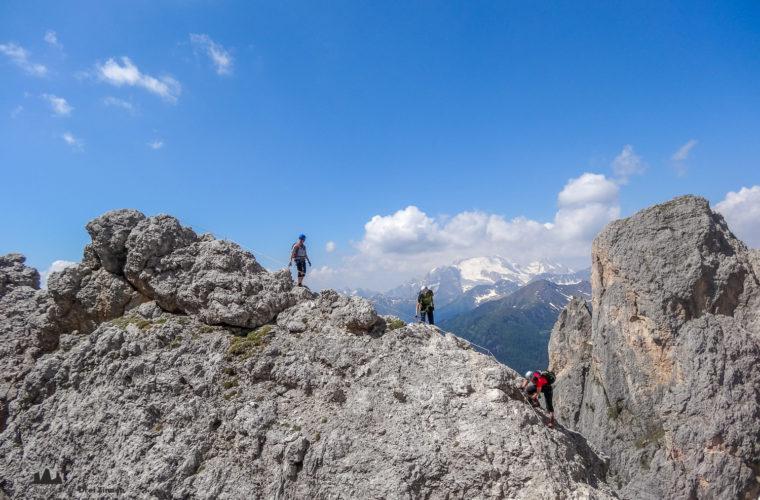 Klettersteig Col dei Bos via ferrata-4