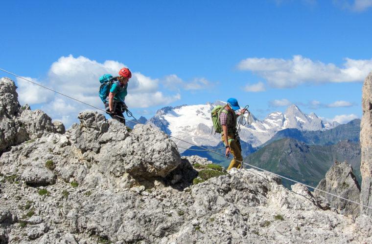 Klettersteig Col dei Bos via ferrata-5