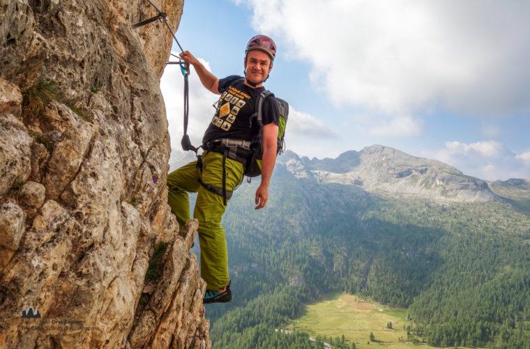 Klettersteig Col dei Bos via ferrata-6
