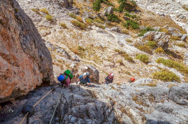 Klettersteig Col dei Bos via ferrata-7