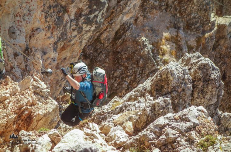 Klettersteig Col dei Bos via ferrata-8