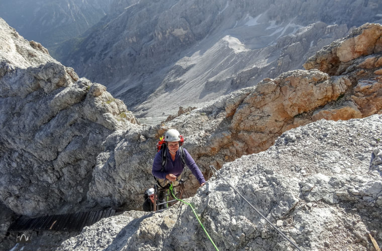 Klettersteig Dibona via ferrata-1