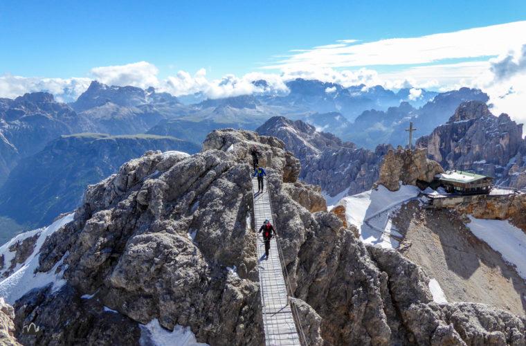 Klettersteig Dibona via ferrata-5