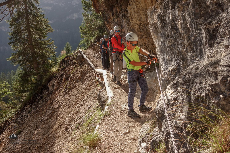 Klettersteig Zauchensee : Klettersteig speikboden skigebiet