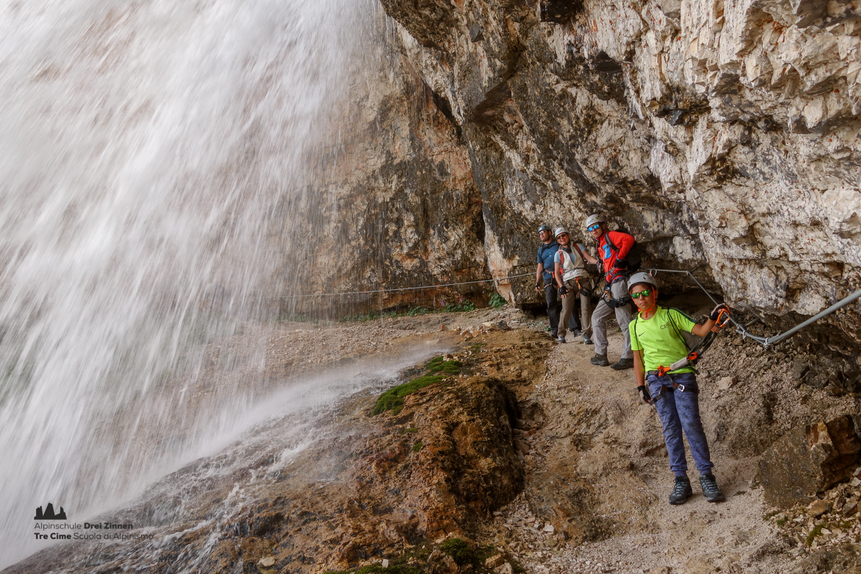 Klettersteig Drei Zinnen : Klettersteig fanesschlucht via ferrata gola di fanes
