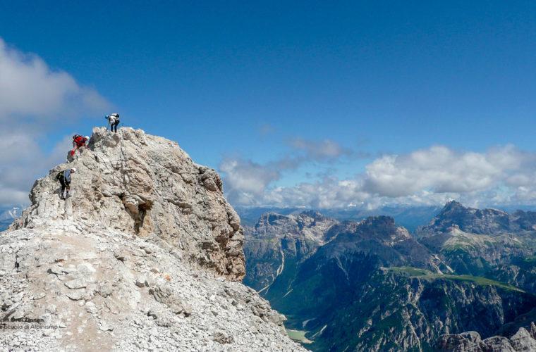 Klettersteig Marino Bianchi via ferrata-4