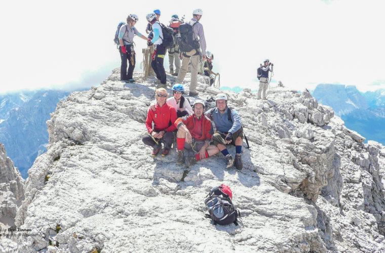 Klettersteig Marino Bianchi via ferrata-5