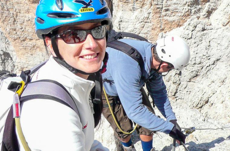 Klettersteig Marino Bianchi via ferrata-6