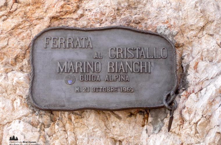 Klettersteig Marino Bianchi via ferrata-8