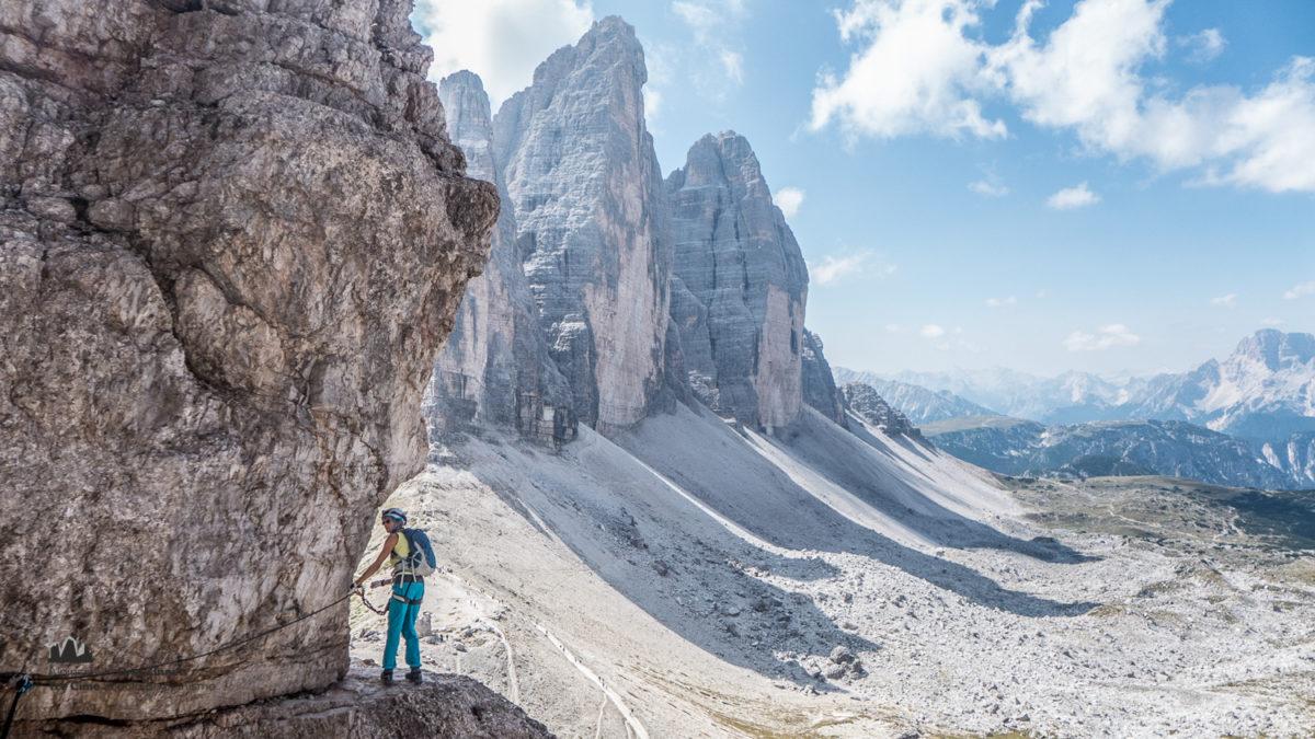 Klettersteig Paternkofel : Paternkofel innerkoflersteig alpinschule dreizinnen