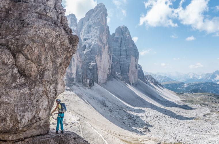Klettersteig Paternkofel - via ferrata Monte Paterno-11