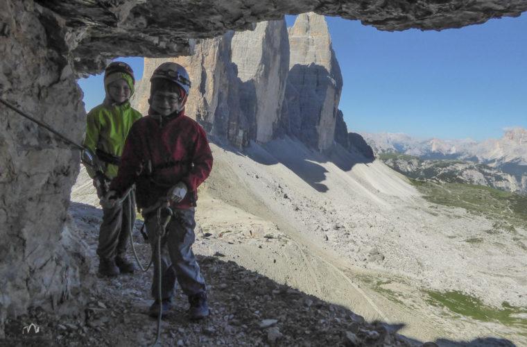 Klettersteig Paternkofel - via ferrata Monte Paterno-13