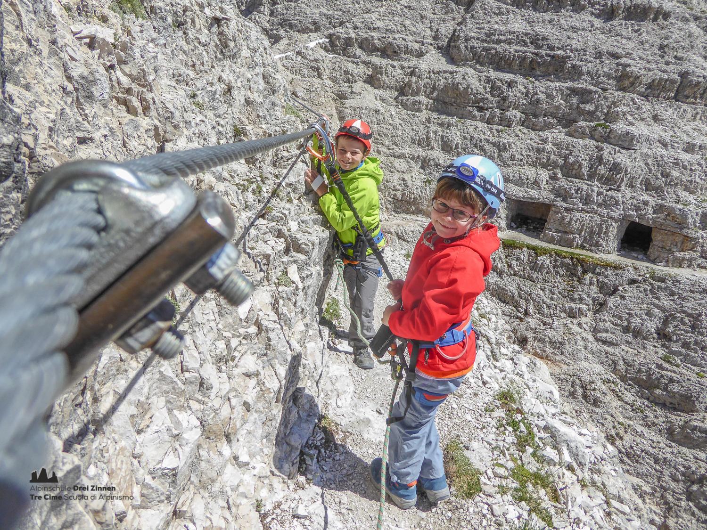 Klettersteig Drei Zinnen : Klettersteig paternkofel via ferrata monte paterno