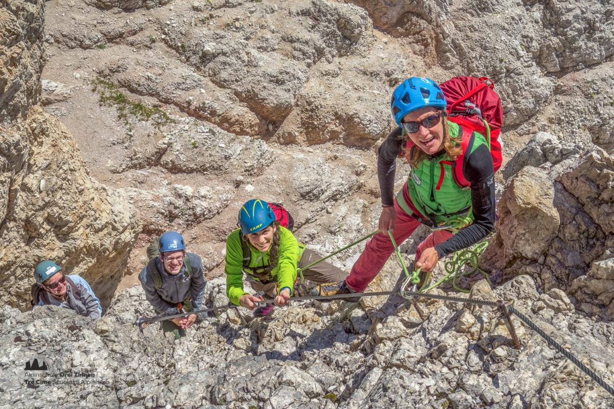 Klettersteig Paternkofel : Paternkofel dolomiten klettersteige sextner