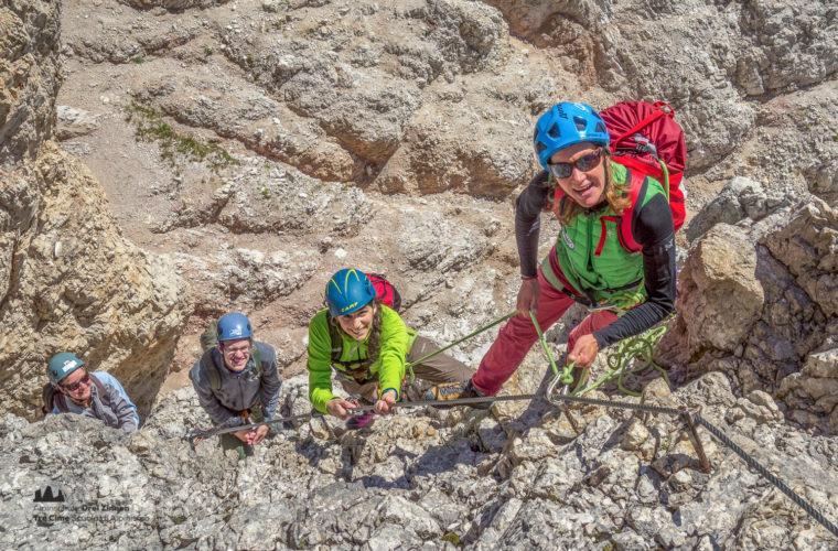 Klettersteig Paternkofel - via ferrata Monte Paterno-15