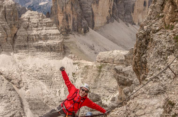 Klettersteig Paternkofel - via ferrata Monte Paterno-16
