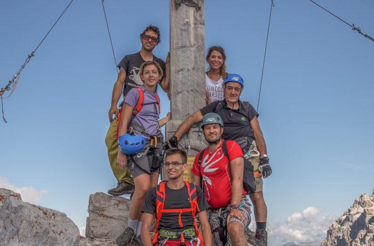 Klettersteig Paternkofel - via ferrata Monte Paterno-20