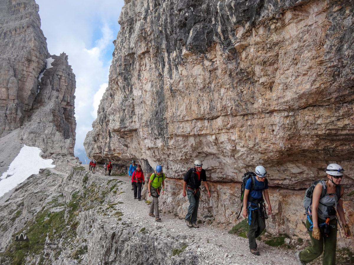 Klettersteig Paternkofel : Klettersteig paternkofel ferrata monte paterno berg montagna