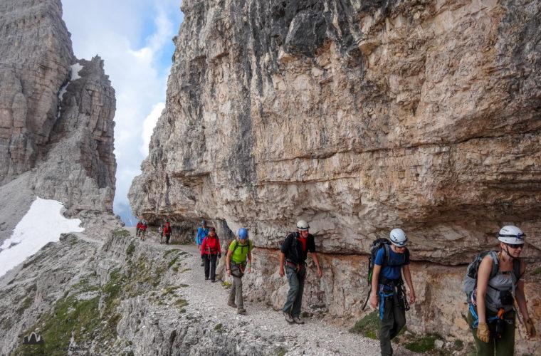 Klettersteig Paternkofel - via ferrata Monte Paterno-3